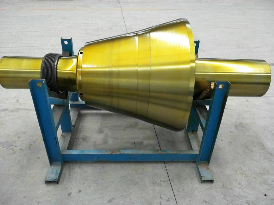 Cone Crusher Main Shaft Assembly Suit Metso GP11F Cone Crusher Spare Parts