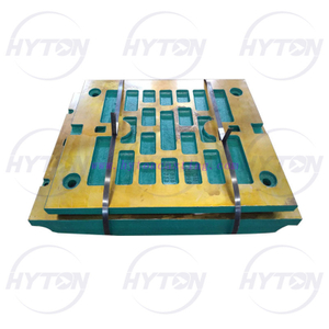 Manganese Movable Fixed Jaw Plate Suit Metso Nordberg C105 Jaw Crusher Spare Parts