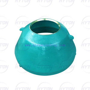 Manganese Mantle Bowl Liner Suit Metso Nordberg GP300 Cone Crusher Wear Parts