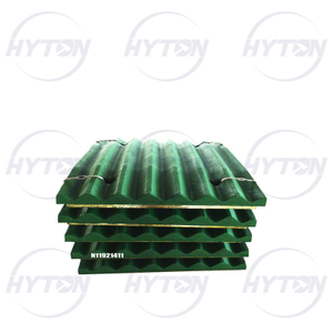 Wear Liner Mn18 Jaw Fixed Jaw Mobile Suit for Metso Nordberg C106 Jaw Crusher Spare Part06