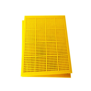Polyurethane PU Screen Mesh with Hook for mine Vibrating screen