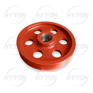 Flywheel suit Metso Nordberg C200 Jaw Crusher Spare Parts Supplier