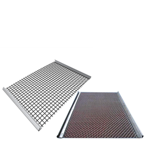Heavy Duty 65mn Carbon Wire Mesh Screen for Stone Quarry